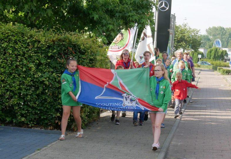 Bevers en Welpen Scouting Hellevoetsluis