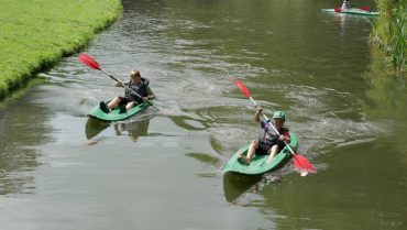 Kanovaren in Spijkenisse
